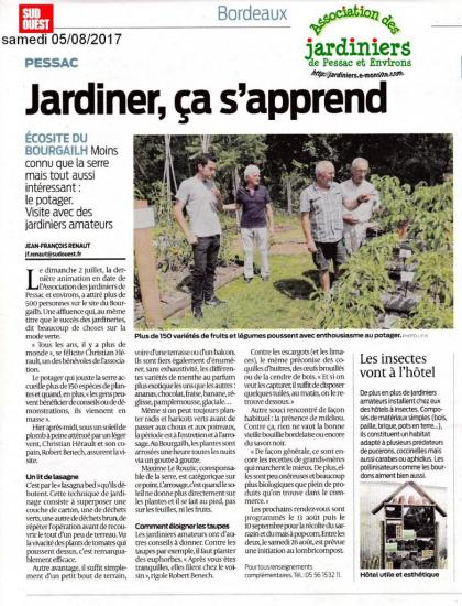 sud ouest pessac bourgailh nature jardiniers