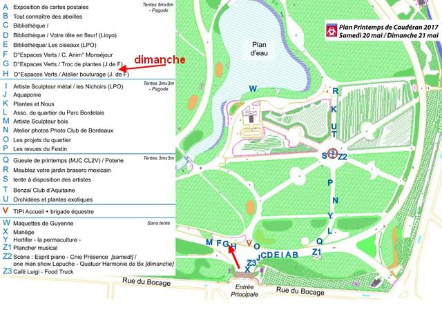 Plan parc bordelais avec stands 03